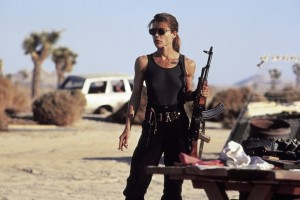 Sarah Connor in T2