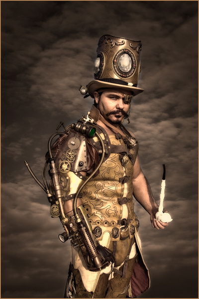 Steampunk Overlord, courtesy of Liam Brandon Murray.