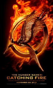 Catching Fire Movie Poster - Lionsgate Films