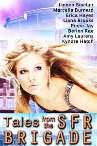 SFR Brigade Anthology Cover Art