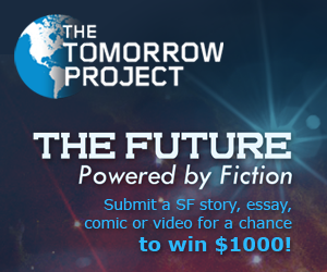 Ad for The Tomorrow Project Writing Competition